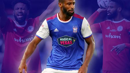 Janoi Donacien joined Ipswich Town from Accrington Stanley in the summer but is now back there on lo