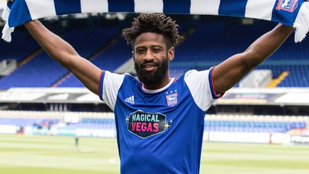 Ipswich Town defender Janoi Donacien from Accrington Stanley and is now back there on loan. Photo: I
