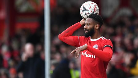 Janoi Donacien is back on loan at Accrington Stanley. Picture: PA