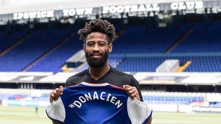 Donacien sees his future at Ipswich Town. Picture: ITFC