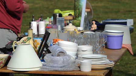 The Give and Take event aims to stop unwanted bric-a-brac being thrown into landfill unneccessarily.