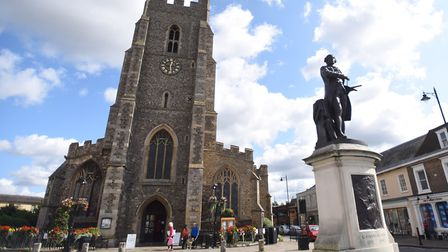 St Peter's church in Sudbury Picture: GREGG BROWN