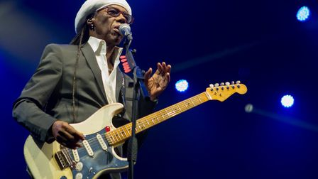 Nile Rodgers is another big name to be annouced Picture: ANDY TATTERSALL/ THE JOCKEY CLUB LIVE