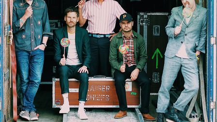 Kaiser Chiefs have joined the Newmarket Nights line-up Picture: CHUFF MEDIA