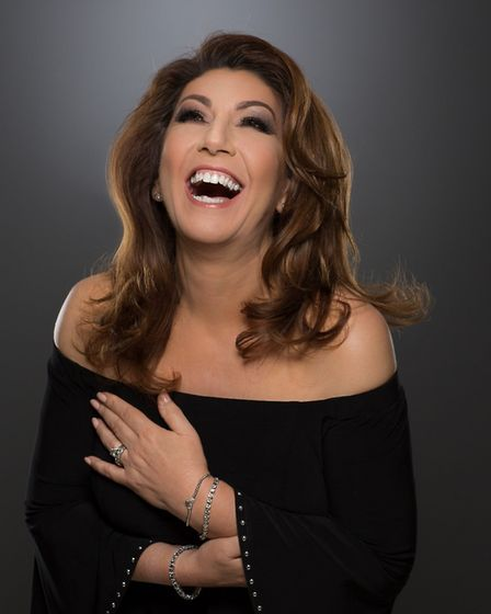 The charming Jane McDonald is returning to Ipswich Picture: SUPPLIED