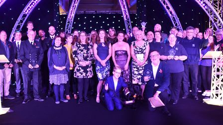 The winner's of the 2018 Stars of Suffolk awards Picture: Sonya Duncan