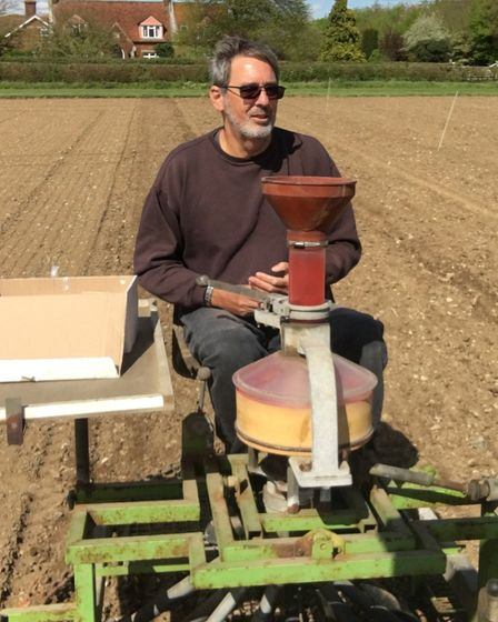 Neal Boughton, director of Crop Development Services Ltd, Colchester Picture: ANDREW FAIRS