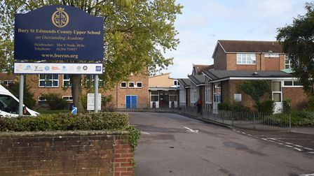 County Upper School in Bury St Edmunds has been rated inadequate by Ofsted Picture: ARCHANT