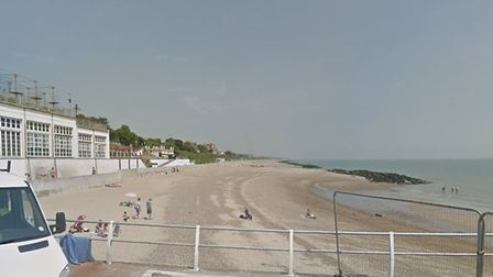 Police received reports a man was spotted in the sea near Pier Avenue in Clacton Picture: GOOGLE MAP