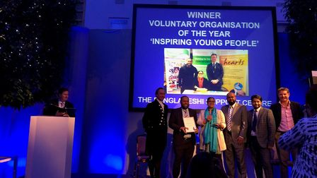 The Bangladeshi Support Centre were presented with the award for Voluntary Organisation of the Year,