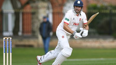 Essex's Sir Alastair Cook in action at Fenner's, Cambridge this week. Cricket is back. Photo: PA