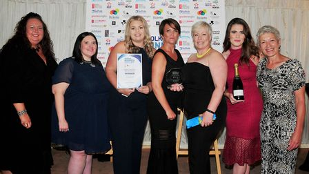 Small Business - Spider. Jenny Irons, Holly Smith, Jade Perry, Michelle Pollard, Gail Shemming, Na