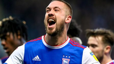 Luke Chambers still believes there is plenty to be positive about at Ipswich Town. Picture: STEVE