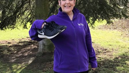 Jan Bloomfield took part in the Cotswold Challenge in aid of the Every Heart Matters appeal in 2018