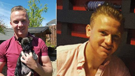 Corrie McKeague, who went missing in Bury St Edmunds in September, 2016 Picture: SUBMITTED