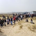 The Southwold Sausage Walk, founded by Laura Baggott, returned for the fifth time at midday on Satur