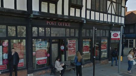 Colchester Post Office in North Hill, Colchester which is to close on May 1, 2019 at 5.30pm. Pictur