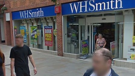 WH Smith in Lion Walk, Colchester which will also be home to a post office from May 2, 2019 which is