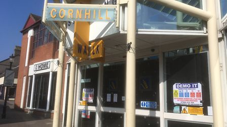 It is proposed Cornhill Walk Shopping Centre in Bury St Edmunds is demolished and it replaced with a