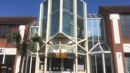 The front of the Cornhill Walk Shopping Centre Picture: CHRIS SHIMWELL