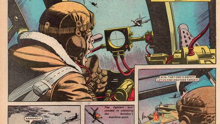 Legacy of valour: how The Victor comic portrayed Cyril Barton's epic final flight 30 years after the