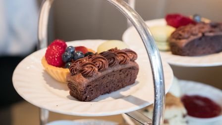 Seven chocolate-filled cakes and pastries feature on Bedford Lodge in Newmarket's chocolate afternoo