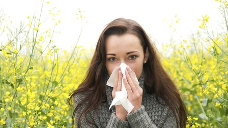 NHS bosses have issued tips for managing hay fever, as pollen levels in Suffolk and Essex rise Pictu