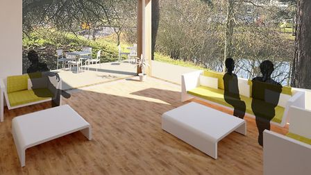 An artist's impression of the inside of the new Cancer Wellbeing Centre in Colchester Picture: ESNE