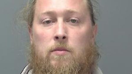 Thomas Potkins, of Wallace Road, Ipswich, who has been jailed for six years for keeping weapons on b