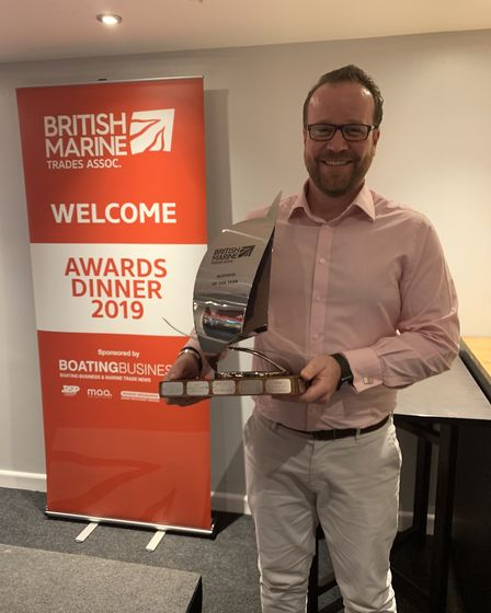Superyacht Tenders and Toys has been awarded the British Marine Trades Association Business of the Y