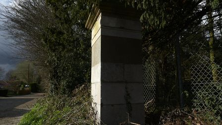 The spirit of Red Hannah is said to haunt the old South Lodge gatepost at Fornham Park.
