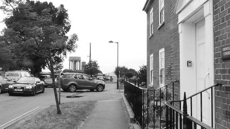 The homes of Orwell Court now stand on the site of the old Southwold cinema Picture: COURTESY DAV
