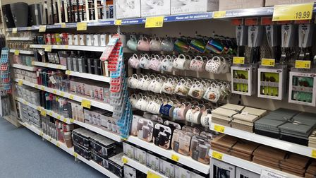 B & M store at Newmarket Picture: B&M