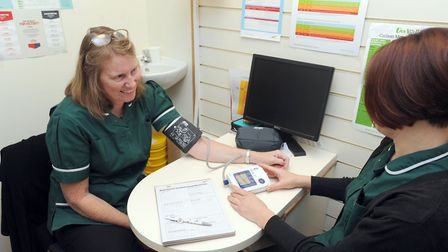 Health checks are on the rise again following a fall in the summer of 2018, Suffolk public health le