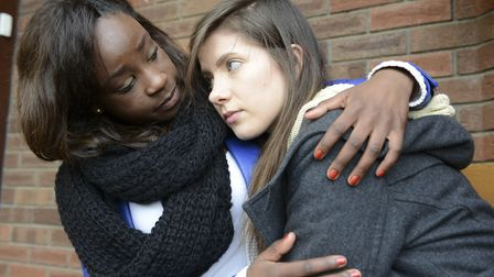 Six in 10 referrals to children's social services in Suffolk relate to mental health (picture posed