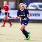 Kate Wingar worked hard for Ipswich in their disappointing defeat at Horsham. Picture: STEVE WALLER