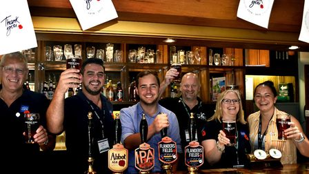 The Flanders Fields ale has raised nearly �33,000 for the Royal British Legion Picture: ANDY ABBOTT