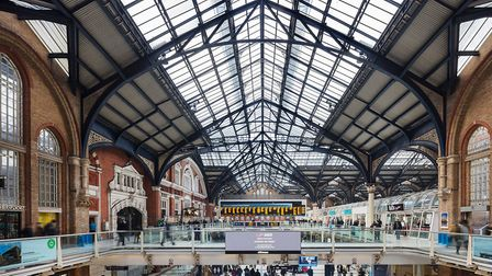 The 30-year-old roof at Liverpool Street will be refurbished. Picture: ADAM PARKER/NETWORK RAIL
