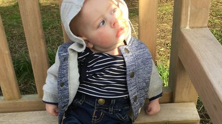 Henry Payne-Smith, who was diagnosed with cerebral palsy, died at nine months old. Pictures: SOPHIE