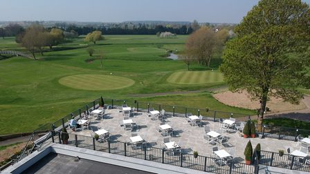 Part of the golf course at the All Saints Hotel site could be turned into holiday lodges Picture: AL