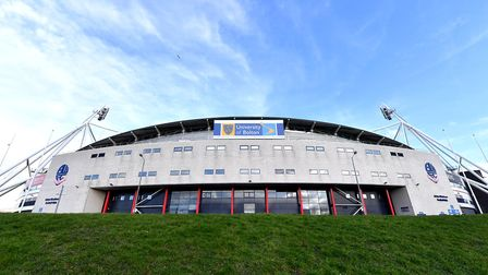 Town head to Bolton on April 6 for a basement battle. Photo: PA