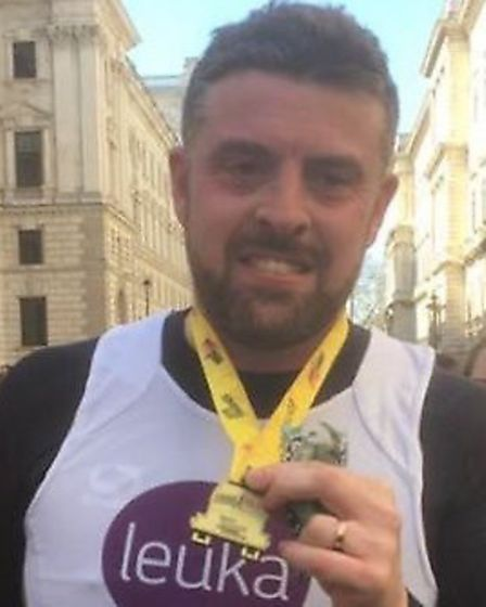Former EADT and Ipswich Star sports reporter has completed his first half marathon less than three s