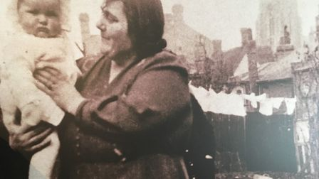 Emily Wilding with step-granddaughter Margaret in about 1941 Picture: Archant photograph of Museum