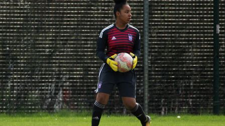 Town keeper Leonie Jackson Picture: ROSS HALLS