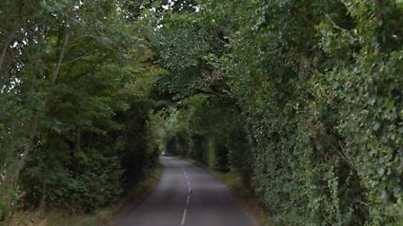 The crash happened on Thurston Road in Great Barton Picture: GOOGLE MAPS