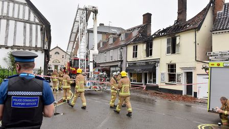 Emergency crews were at the scene Picture: Nick Butcher