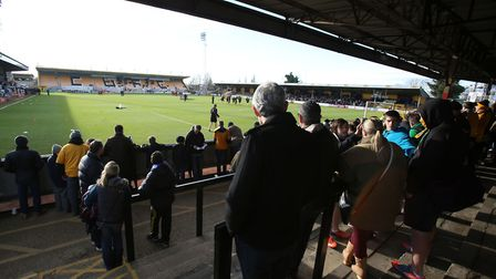 Fans at Cambridge United's fixture against Colchester at Abbey Stadium saw some fans arrested and ch