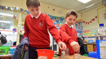 There were a range of experiments for pupils to enjoy PICTURE: Jamie Honeywood