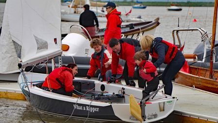 Aldeburgh Yacht Club and Slaughden Sailing Club will both be hosting open days Picture: FLEUR HAYLES