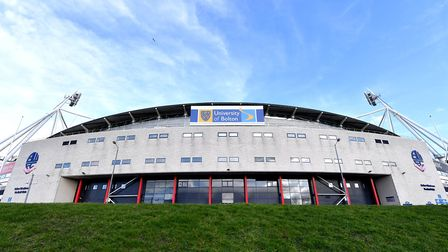 Bolton Wanderers once again face a winding up order over an unpaid tax bill on Wednesday. Photo: PA